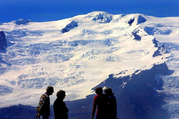 From Vatnajökull National Park.