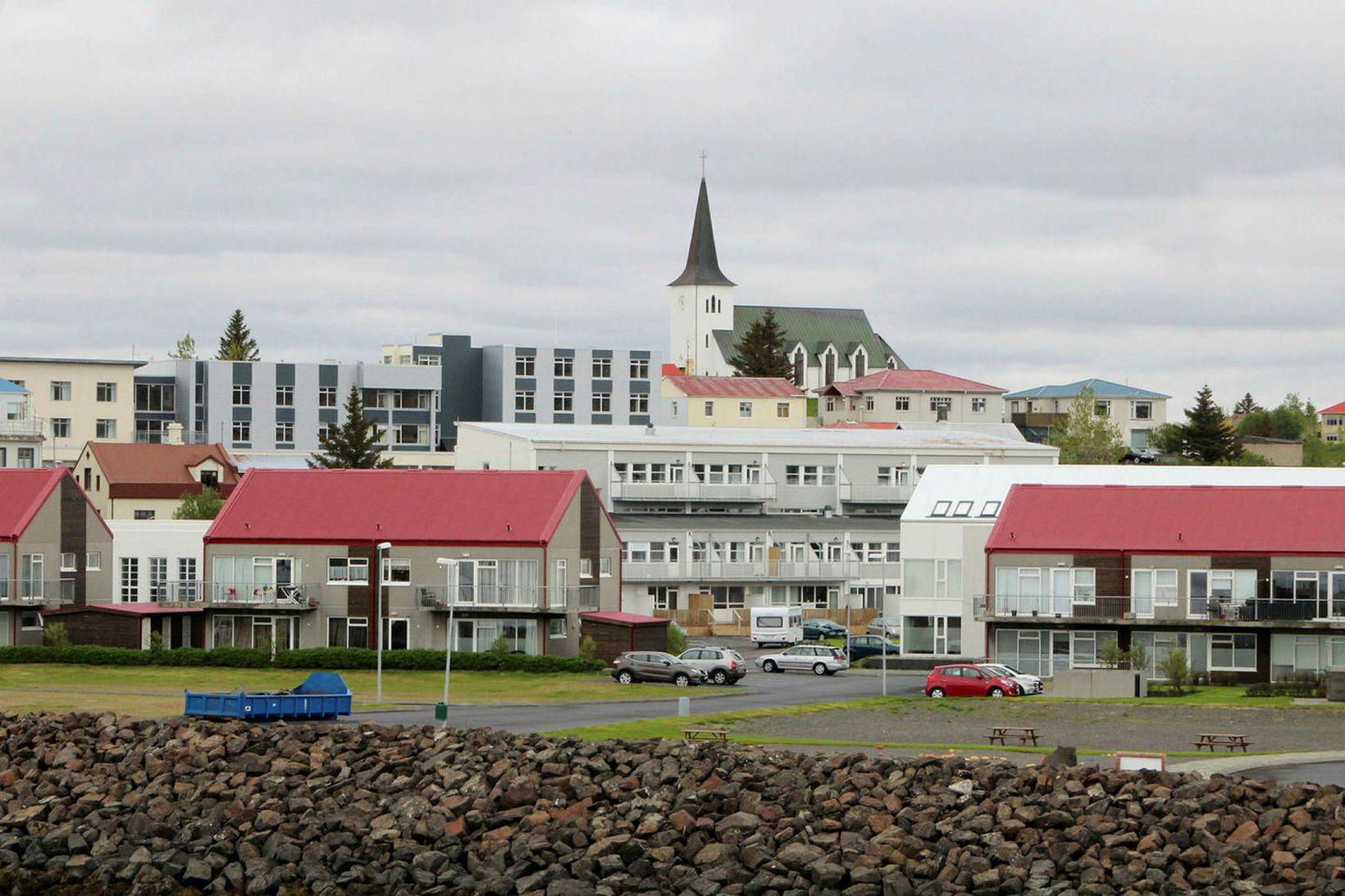 Talning í Norðvesturkjördæmi fór fram í Borgarnesi.