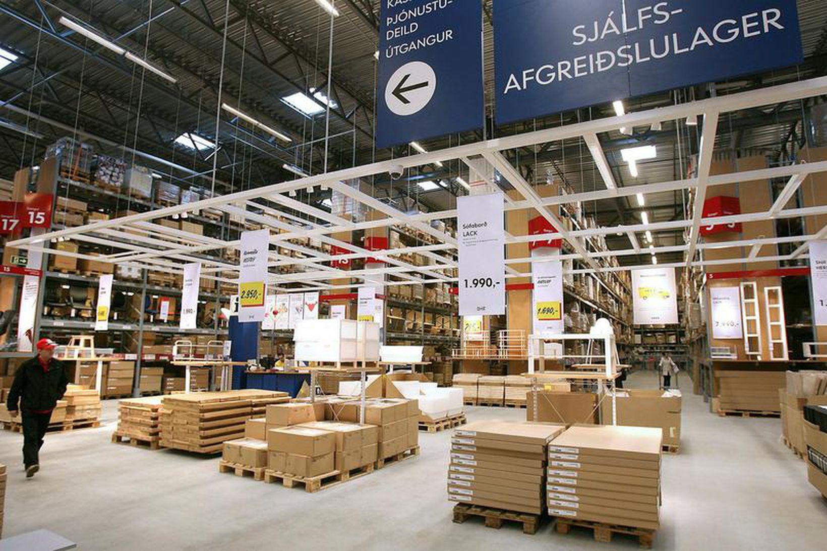 Úr IKEA í Kauptúni.