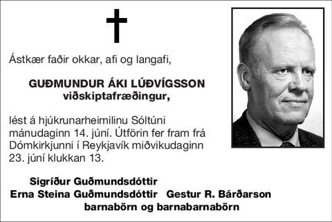 Guðmundur Áki Lúðvígsson