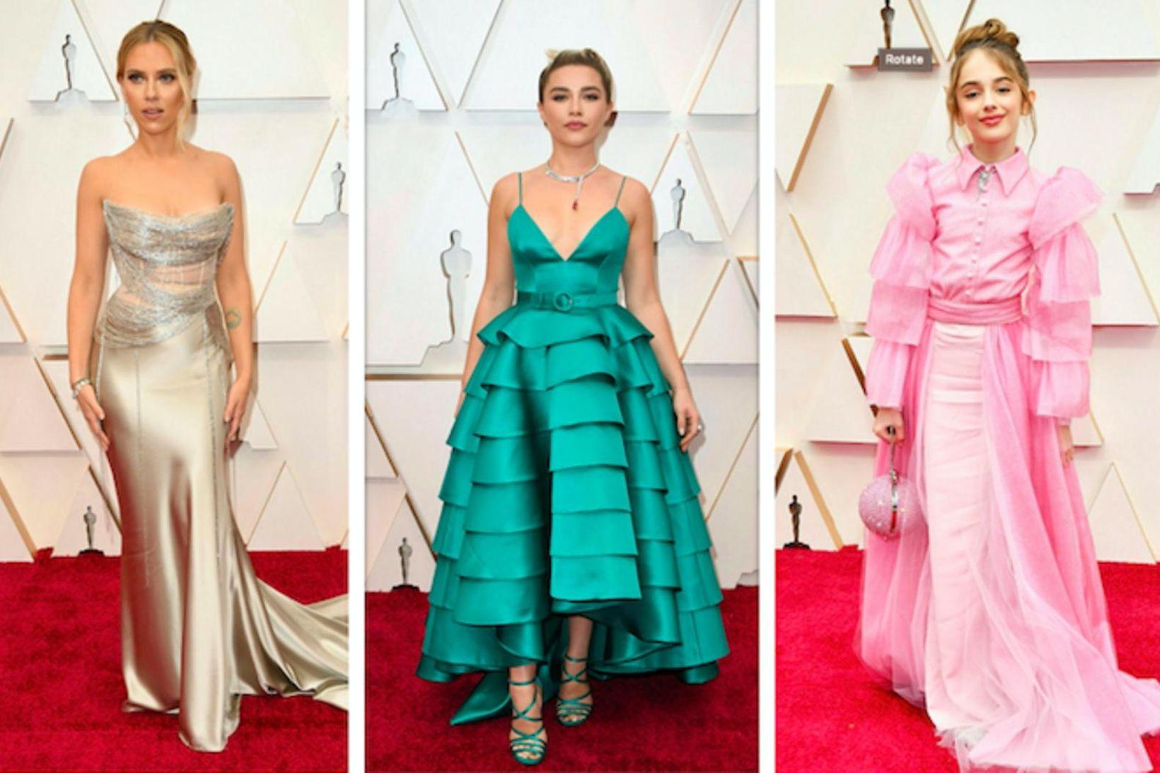 Scarlett Johansson, Florence Pugh og Julia Butters.