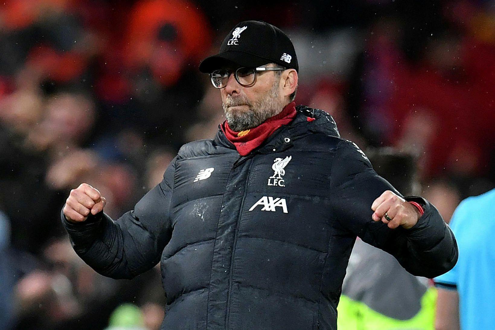 Jürgen Klopp tók við Liverpool í október 2015 og leiðin …