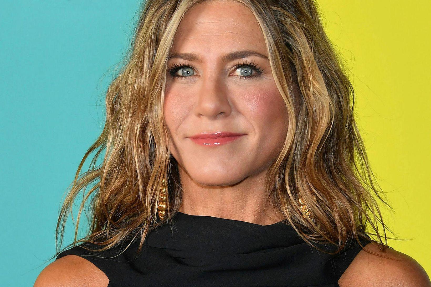 Jennifer Aniston tók Kimmel á orðinu og bauð upp á …