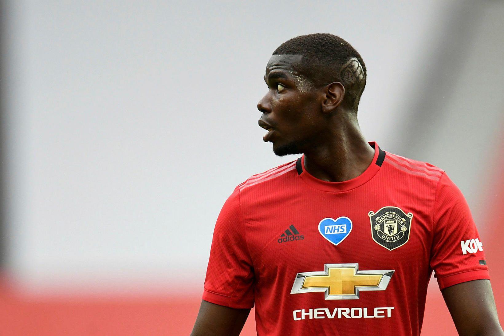 Paul Pogba er snúinn aftur í lið Manchester United eftir …