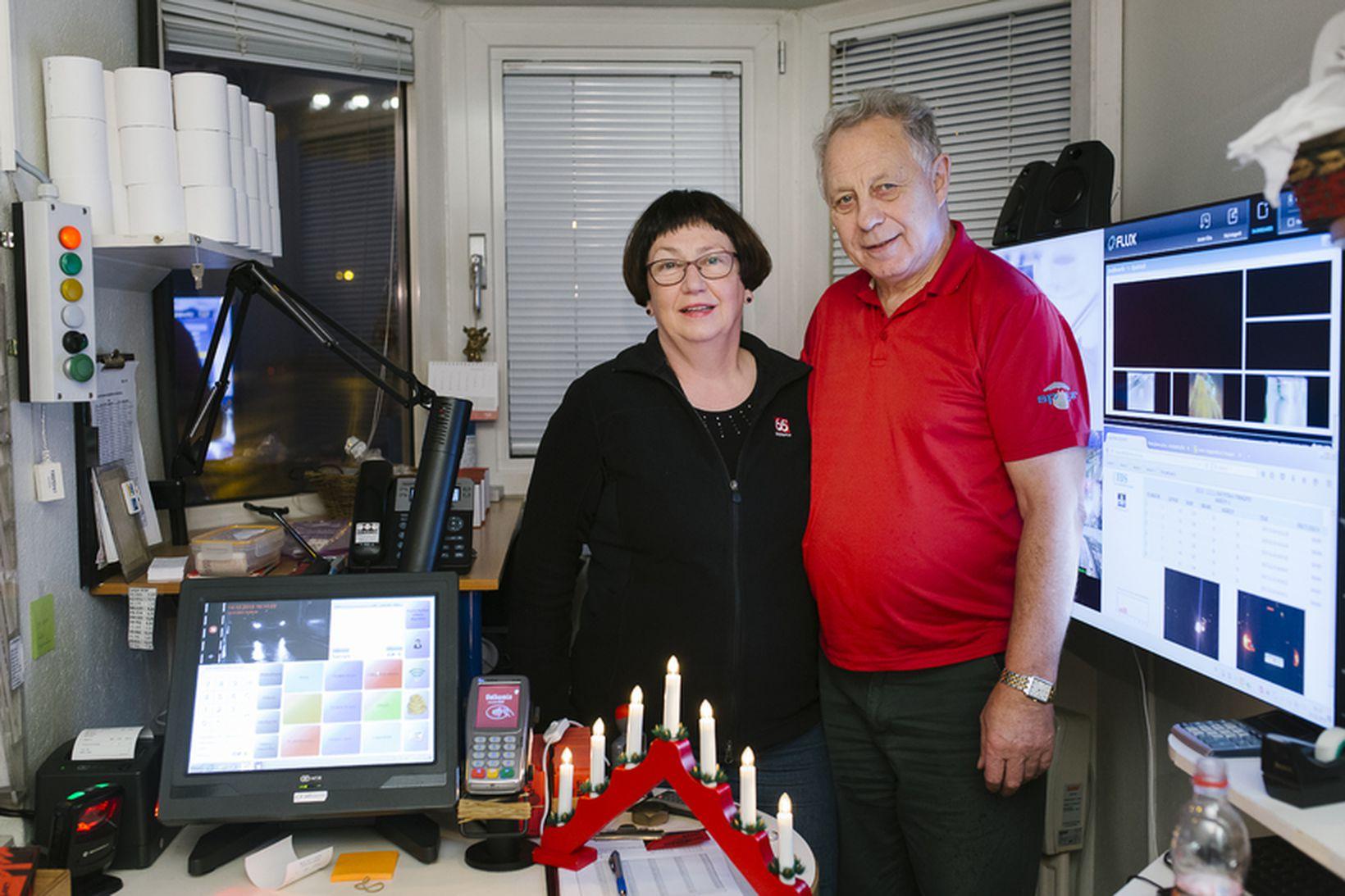 Þórunn Sóley Kjartansdóttir og Gunnar Jón Sigurjónsson verða á vakt …