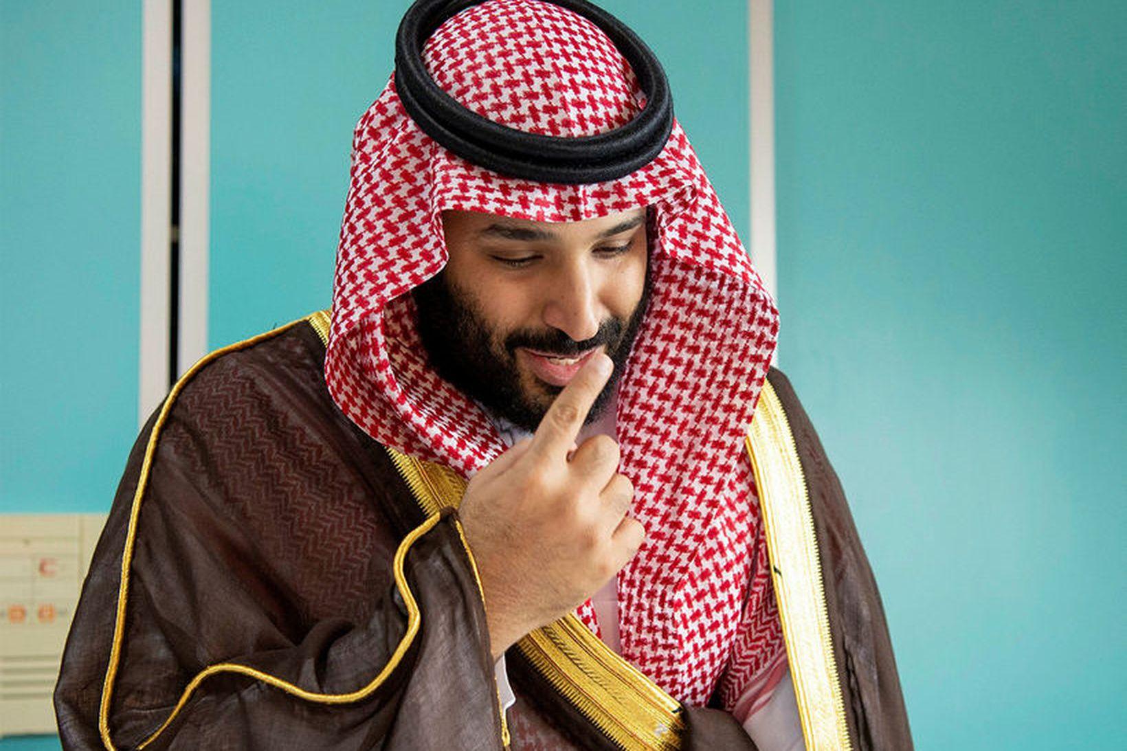 Salman krónrpins Sádi-Arabíu.