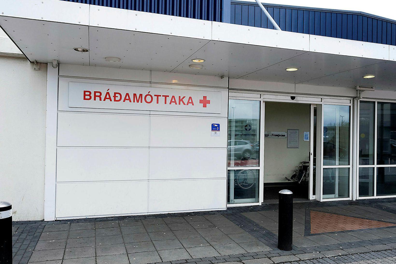 Bráðamóttaka Landspítala.
