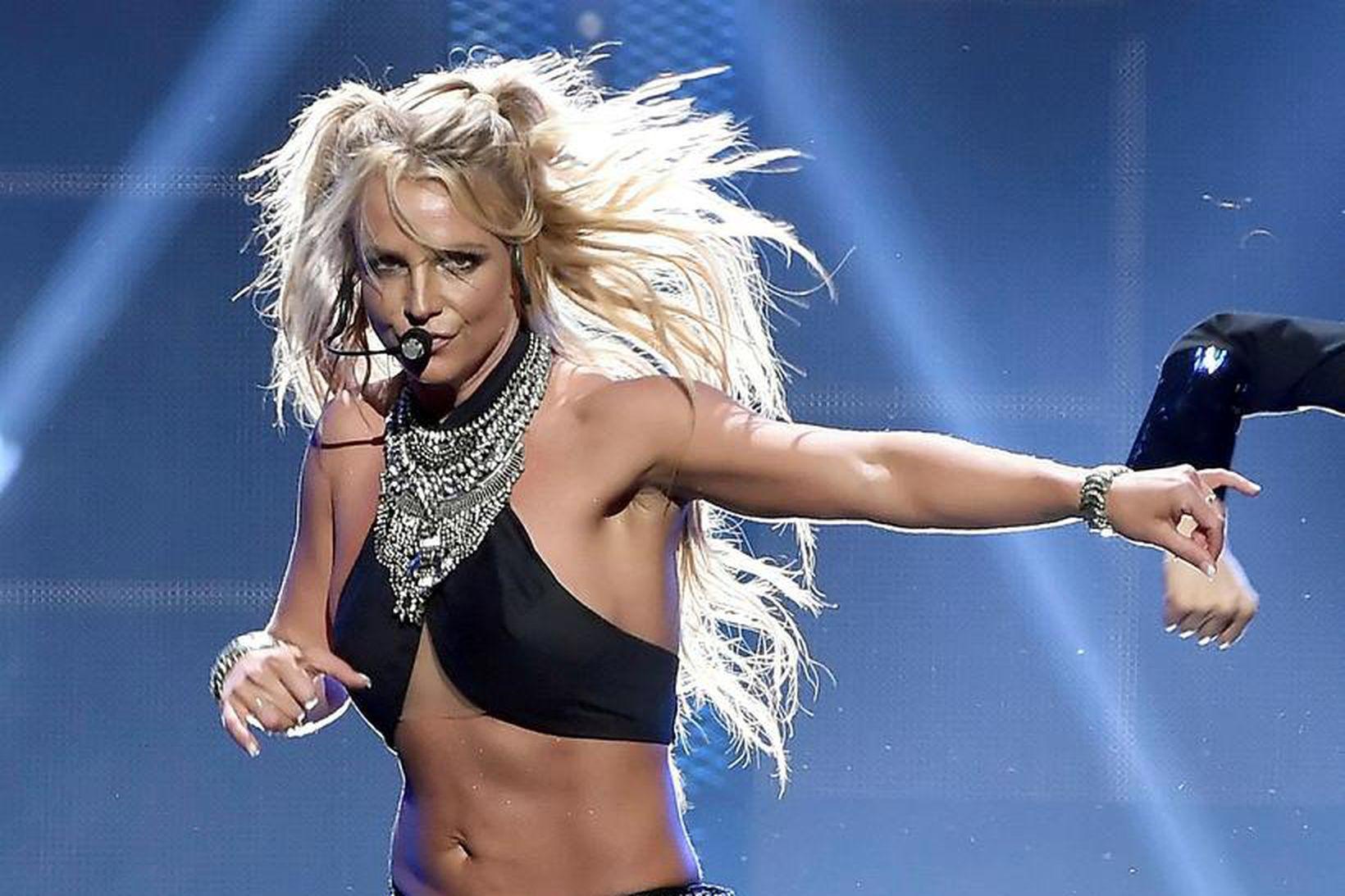 Ekki er víst hvort eða hvenær Britney Spears snúi aftur.