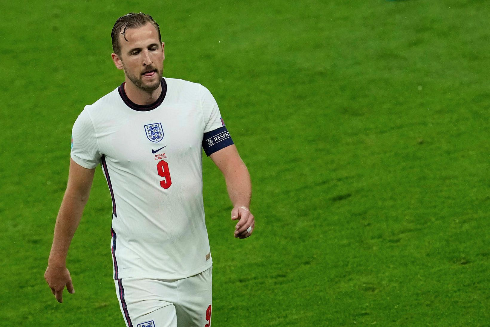 Harry Kane vill fara frá Tottenham í sumar.