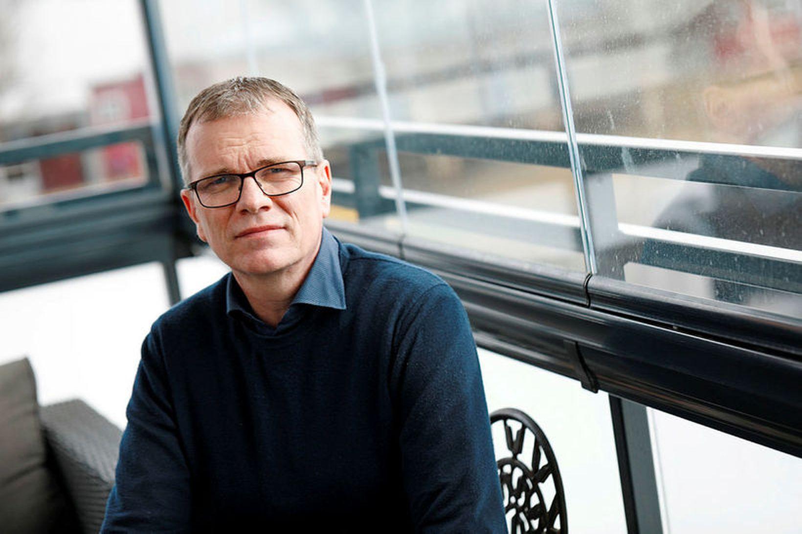 Gunnar Mýrdal yfirlæknir hjarta- og lungnadeildar á Landspítalanum.