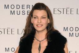 Linda Evangelista var gift Gérald Marie í sex ár.