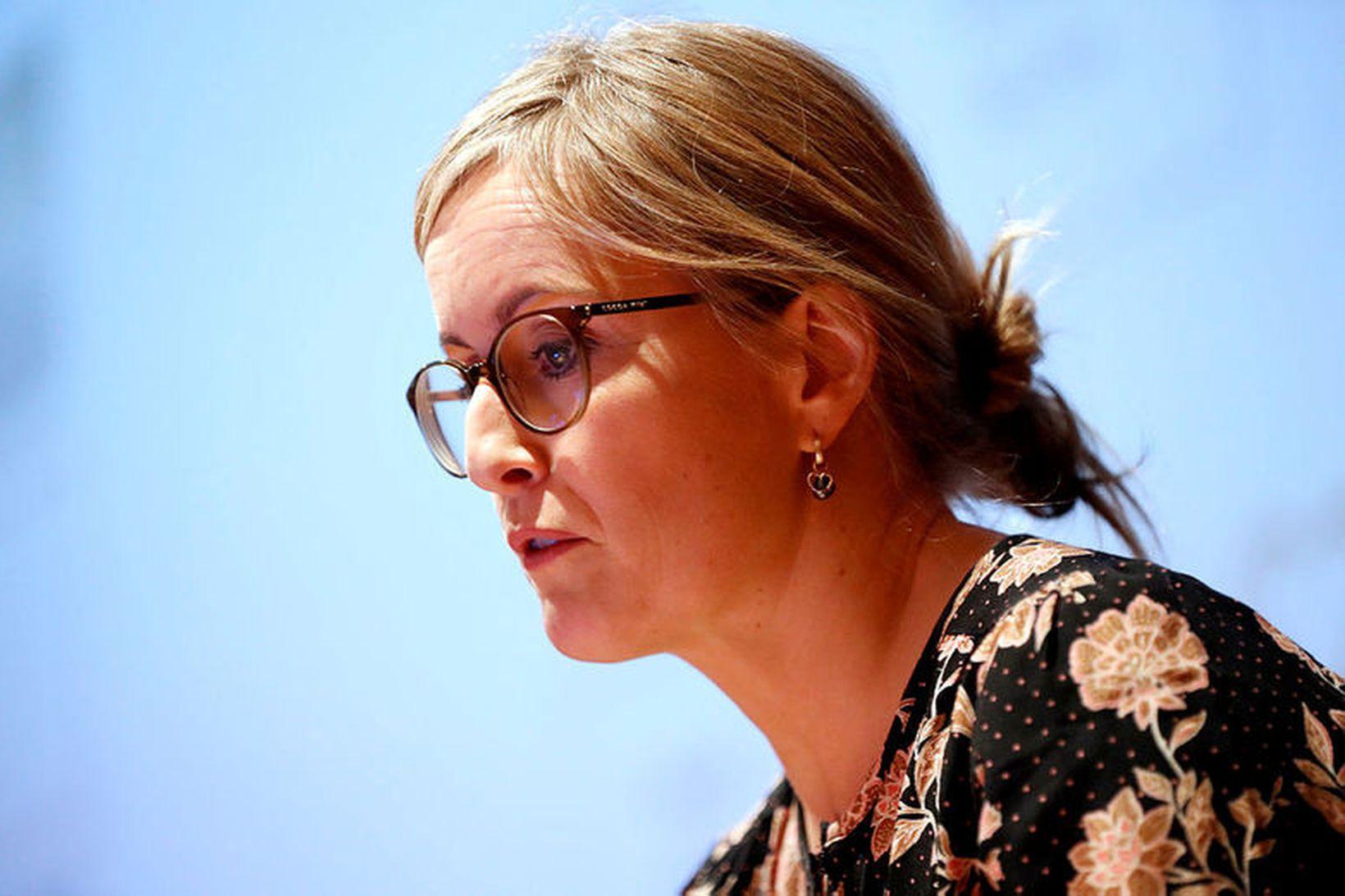 Unnur Anna Valdimarsdóttir prófessor við Læknadeild Háskóla Íslands.