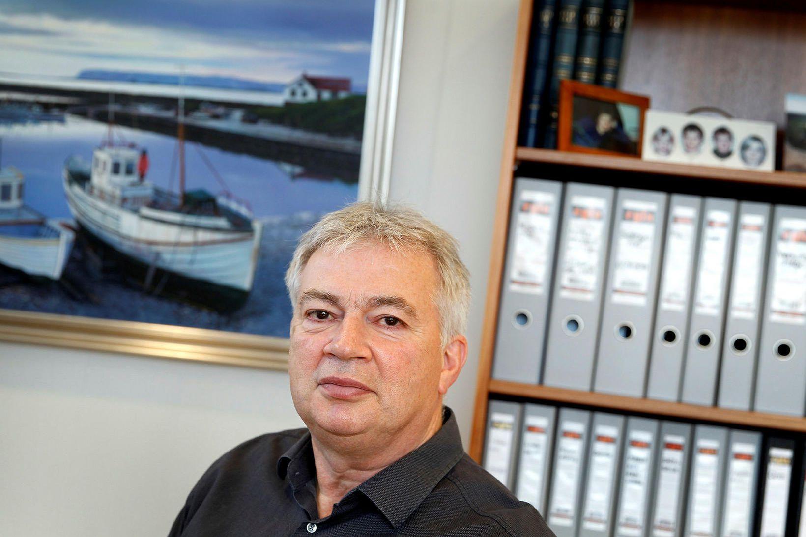 Örn Pálsson, framkvæmdastjóri Landssambands smábátasjómanna.