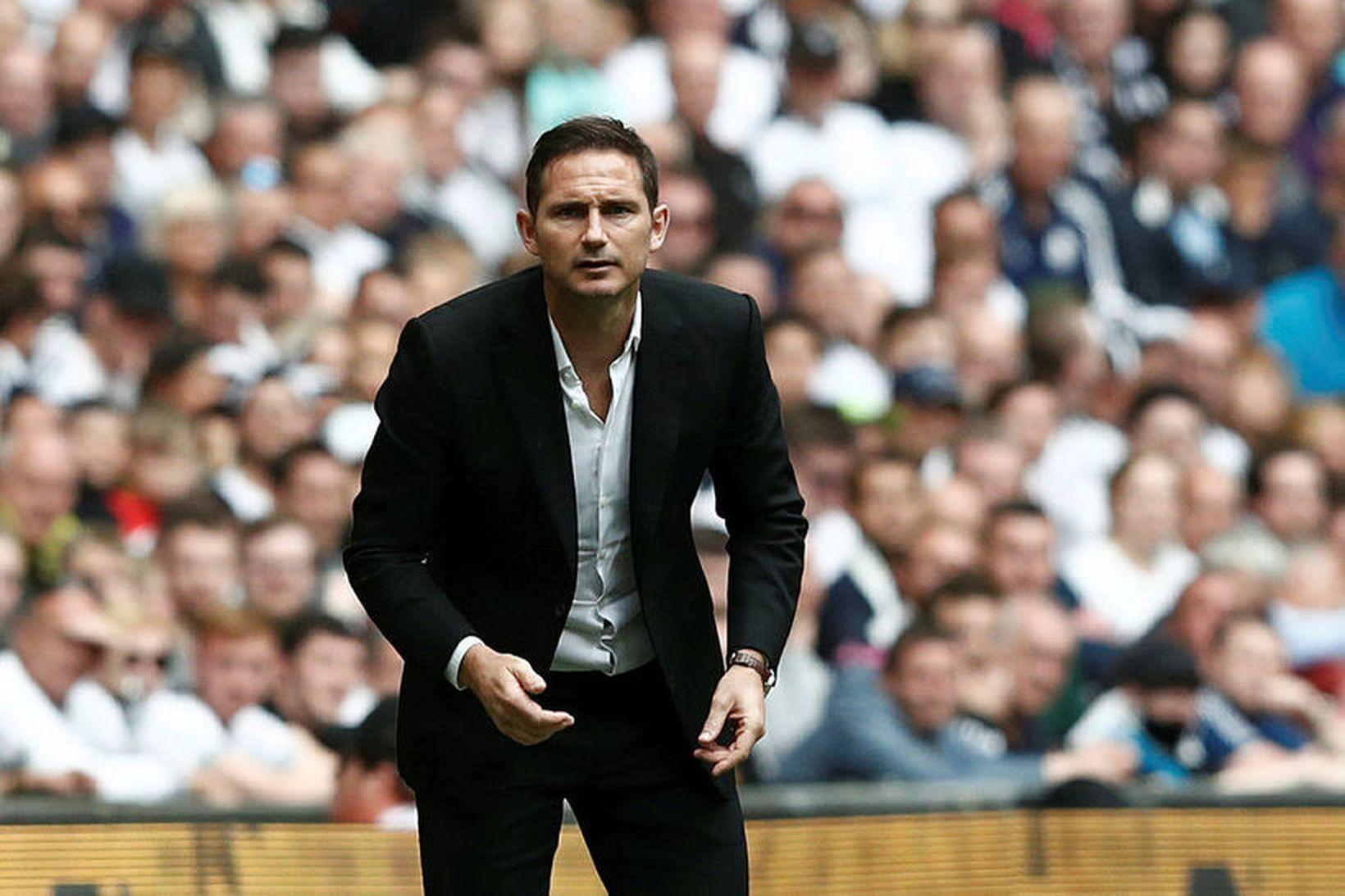 Frank Lampard er að taka við knattspyrnustjórastöðunni hjá sínu fyrrverandi …