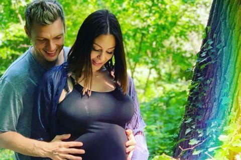 Nick Carter og Lauren Kitt Carter eiga nokkuð óvænt von á barni.