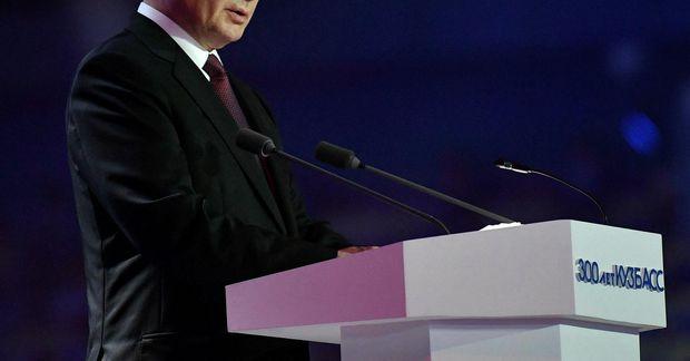 Vladimír Pútín Rússlandsforseti.