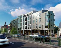 Íslandshótel will be building a five storey hotel in Lækjargata.