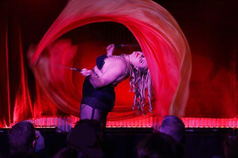 Margrét Erla Maack of Reykjavik Kabarett is the best group's best known performer.