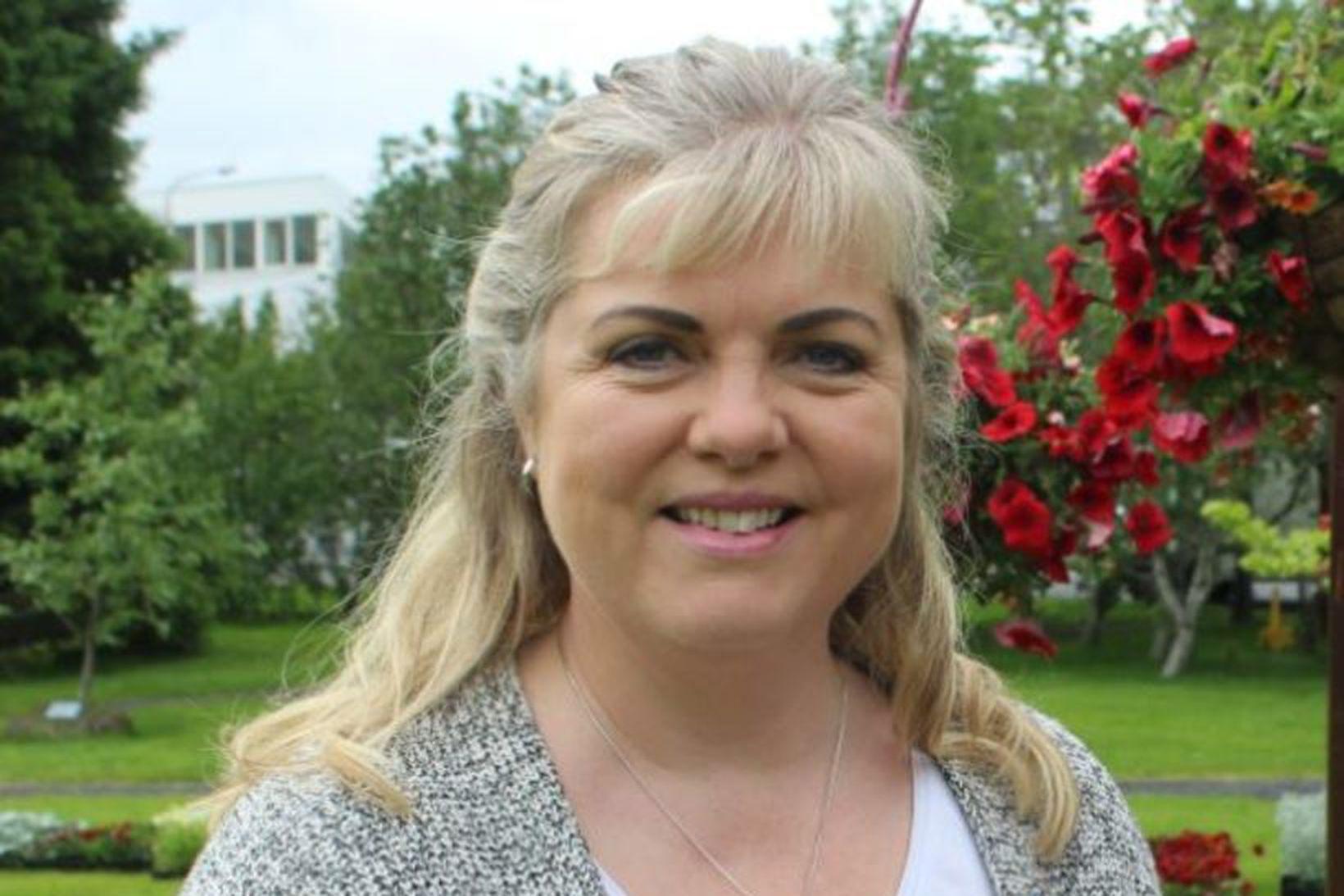 Aldís Hafsteinsdóttir, bæjarstjóri i Hveragerði og formaður Sambands íslenskra sveitarfélaga.