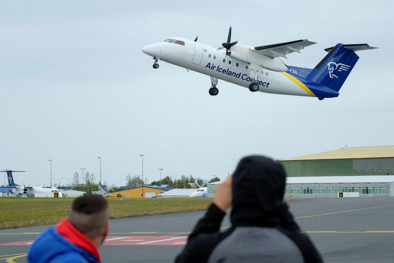 Áformað er að byggja Reykjavíkurflugvöll upp á næstu árum. Það …