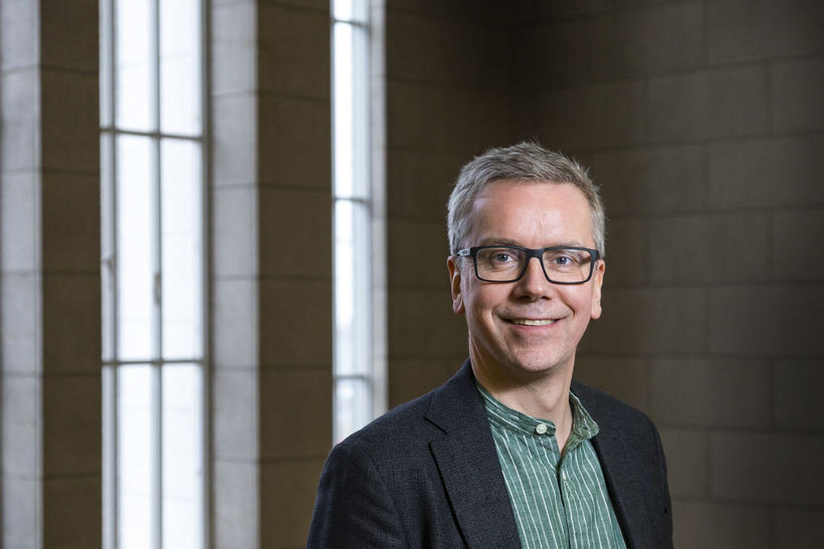Sigurður Yngvi Kristinsson, prófessor í blóðsjúkdómum við Læknadeild Háskóla Íslands …