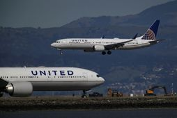 Boeing 737 Max 9 þotur United Airlines.