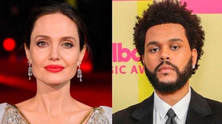 Angelina Jolie og The Weeknd saman?