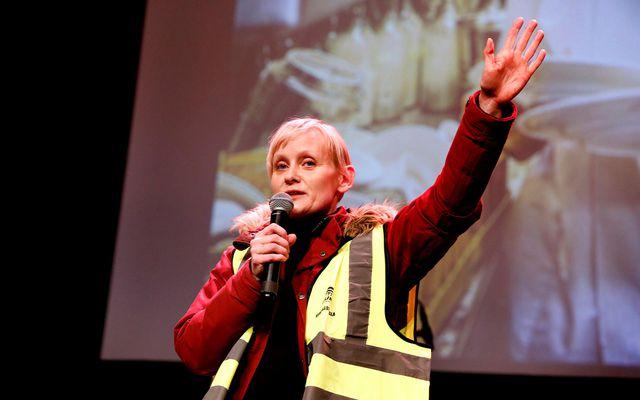 Sólveig Anna Jónsdóttir, formaður Eflingar.