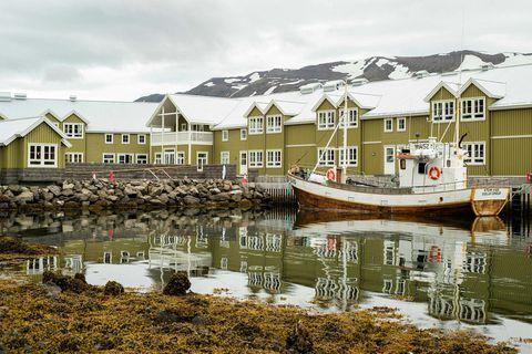 Hótel Sigló, Siglufjörður, North Iceland.