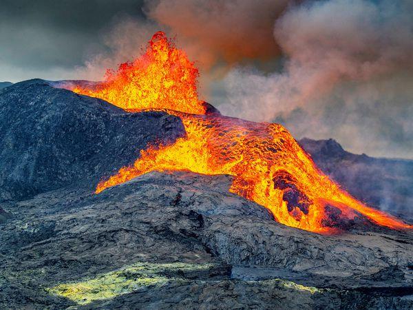 The Fagradalsfjall eruption.