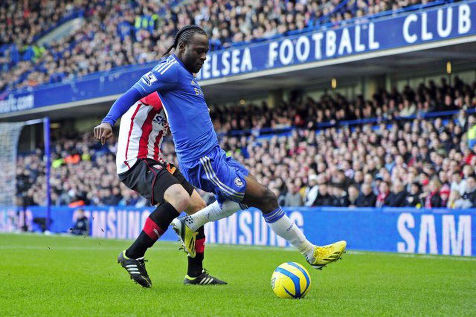 Chelsea hefur lánað Victor Moses til Liverpool út þetta tímabil.