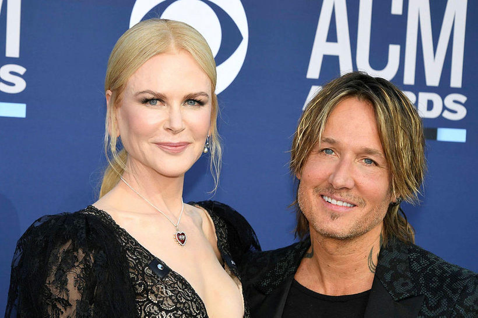 Nicole Kidman og Keith Urban eiga tvær dætur saman.