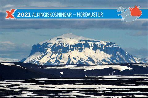 Kjörsókn í Norðausturkjördæmi er á pari við kjörsóknina í alþingiskosningunum árið 2017.