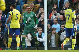 Maarten Stekelenburg var í fjögur ár hjá Everton.