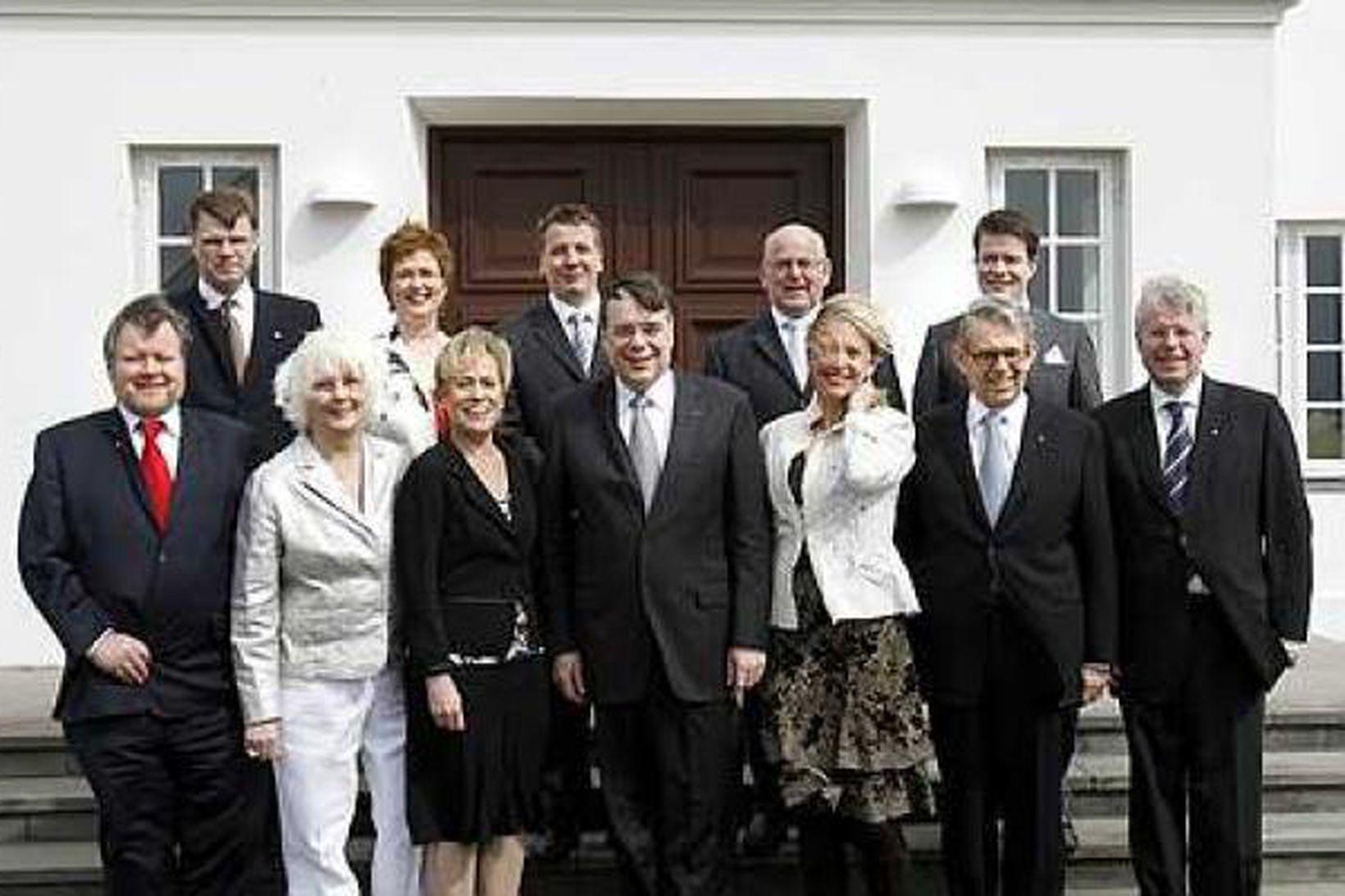 Ríkisstjórn Íslands eftir að hún tók við í maí 2007.