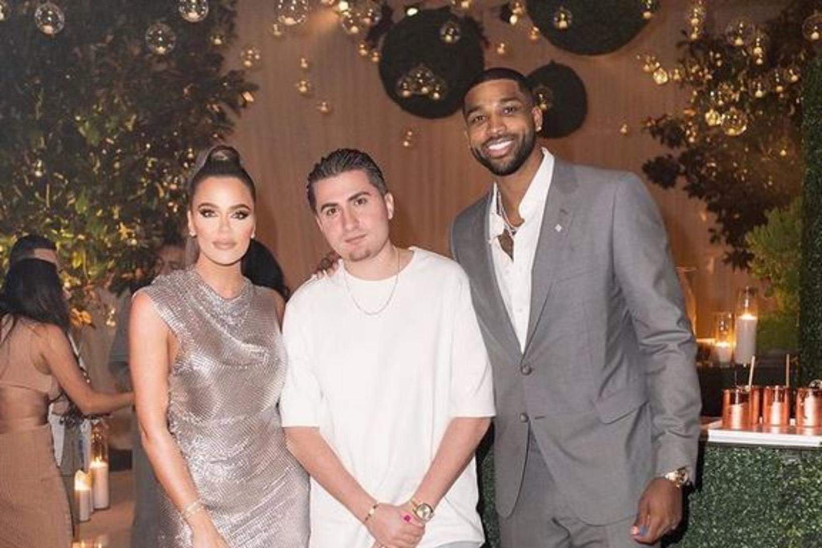 Khloé Kardashian og Tristan Thompson