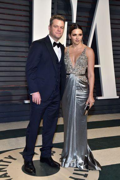 Matt Damon og Luciana Barroso voru í Ástralíu í lok …
