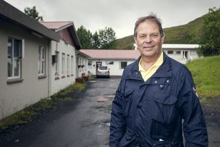Vörður Leví Traustason framkvæmdastjóri Samhjálpar í Hlaðgerðarkoti.