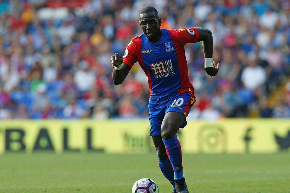 Kantmaðurinn Yannick Bolasie er kominn til Everton frá Crystal Palace fyrir 25 milljónir punda.