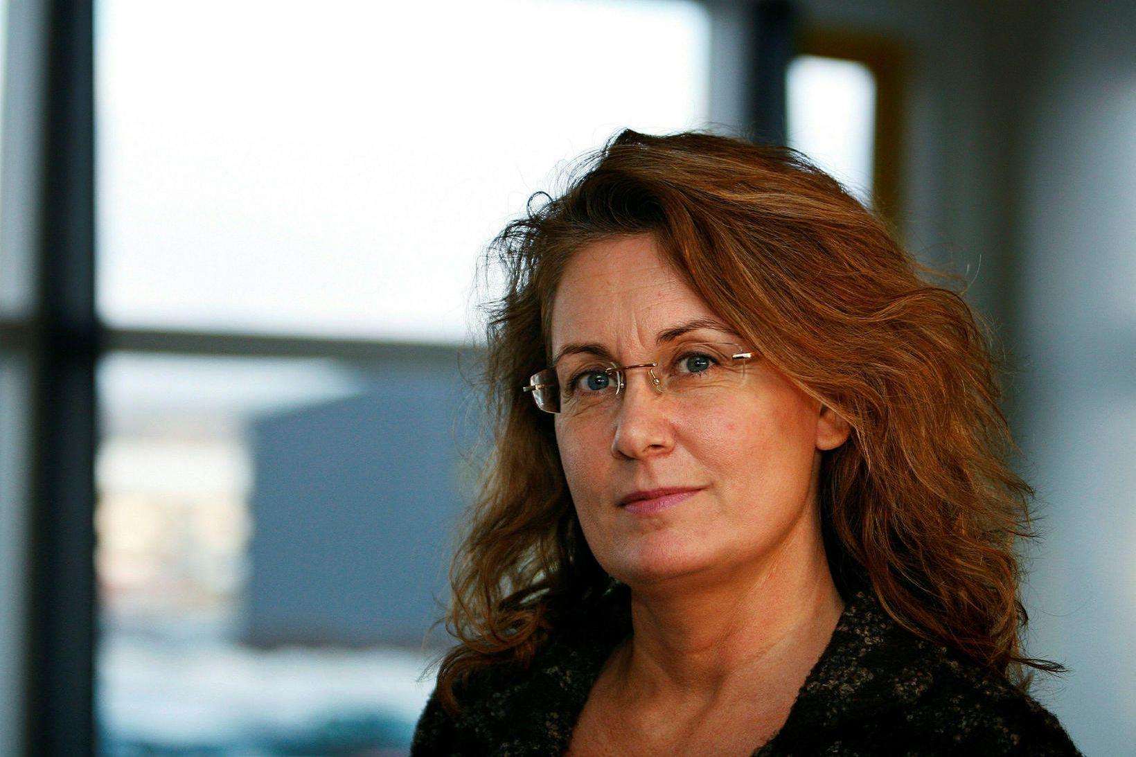 Ágústa Elín Ingþórsdóttir, skólameistari Fjölbrautaskóla Vesturlands á Akranesi.