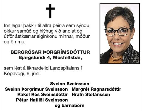 Bergrósar Þorgrímsdóttur