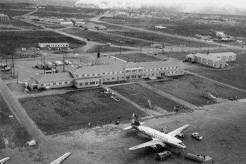 Keflavík Airport, 1955.