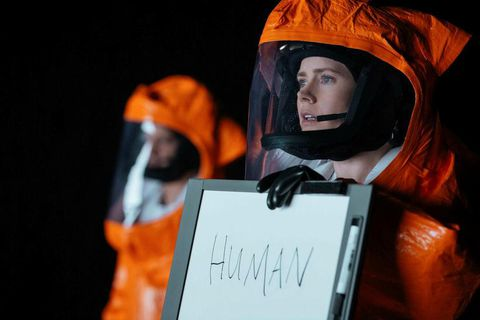 Amy Adams in her role in Arrival.