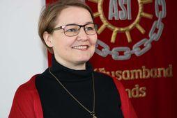 Drífa Snædal er forseti ASÍ.