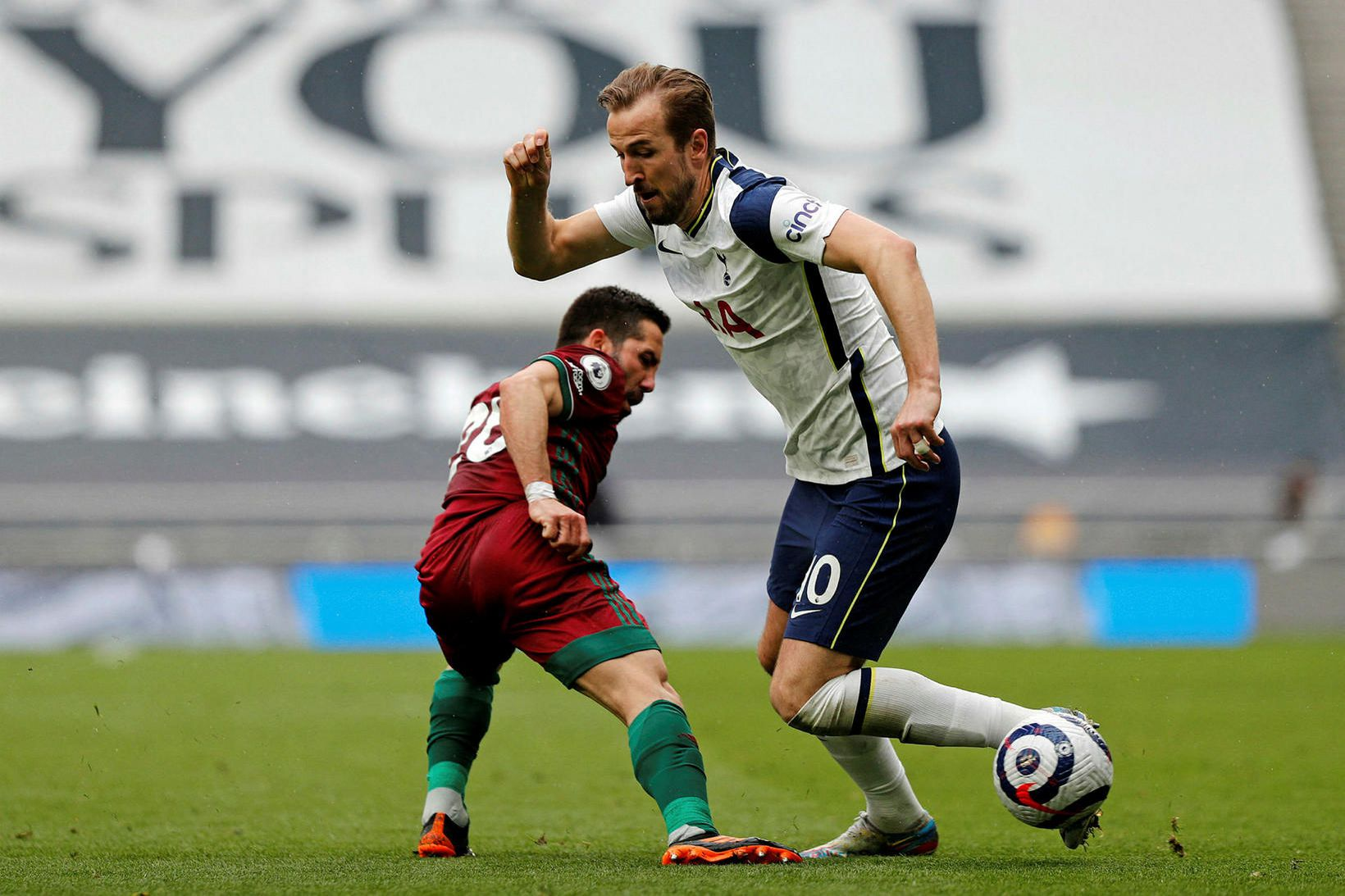 Harry Kane ætlar að yfirgefa Tottenham.