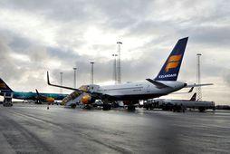Vél Icelandair.