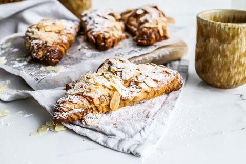 Ofsalega góð croissant með möndlufyllingu.