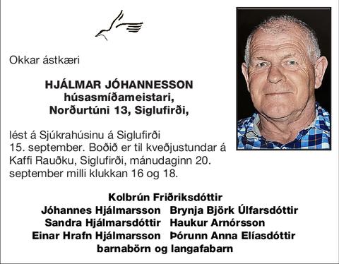 Hjálmar Jóhannesson