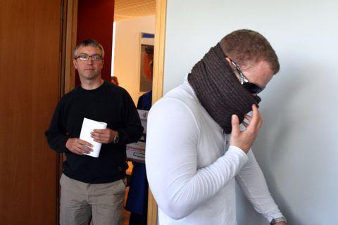 Jónas Ingi Ragnarsson og Tindur Jónsson í Héraðsdómi Reykjaness.