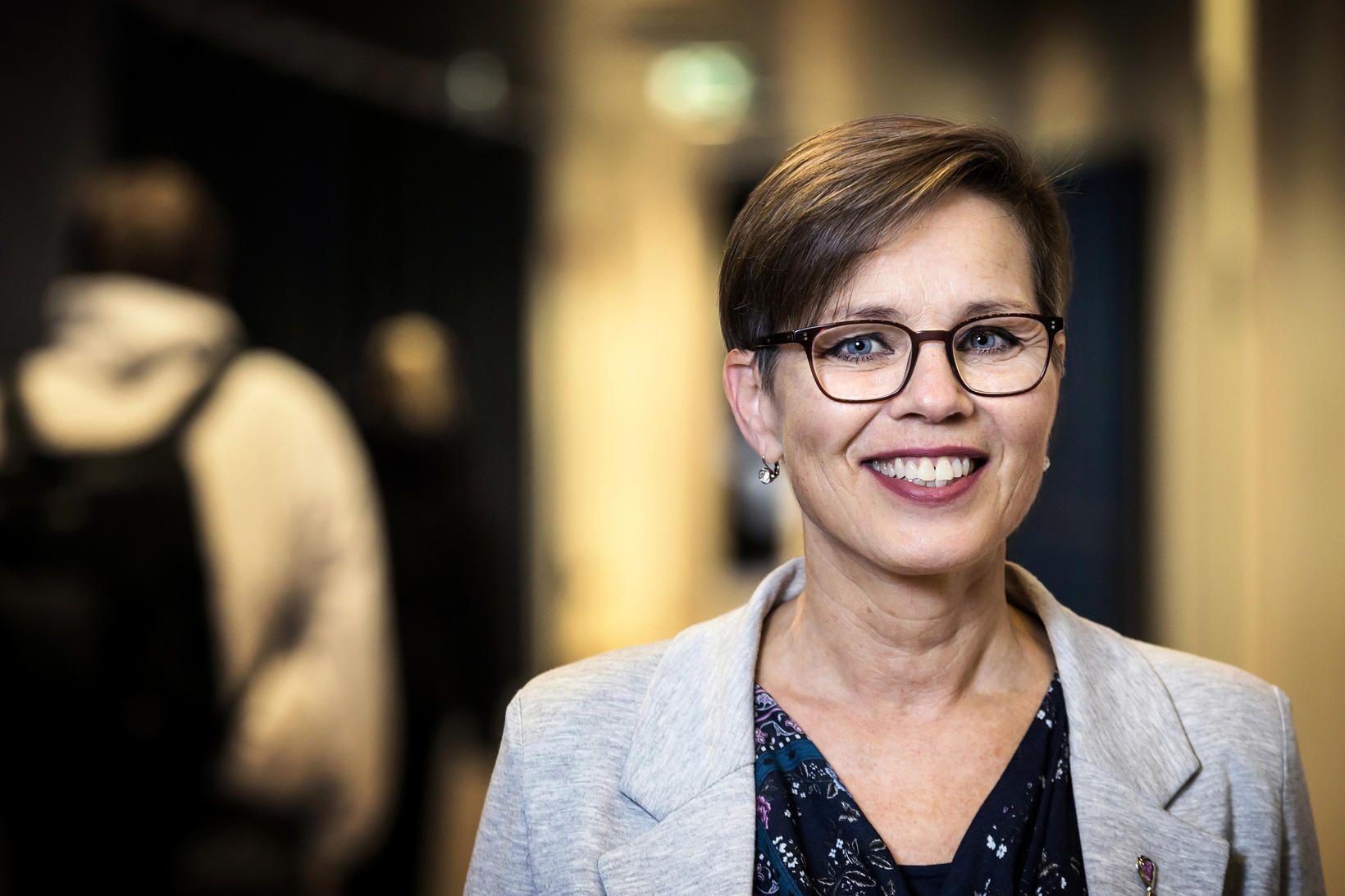 Dr. María Dóra Björnsdóttir, deildarstjóri náms- og starfsráðgjafar Háskóla Íslands, …
